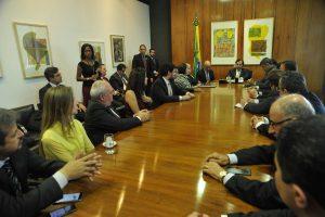 Reunião Frentas com o presidente da Câmara